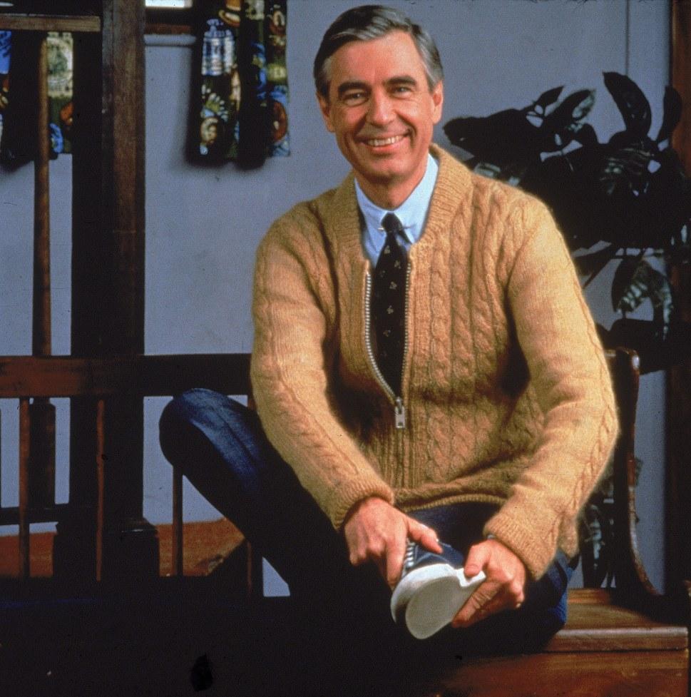 Mister Rogers In Studio
